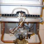 Обслуживание газовых колонок
